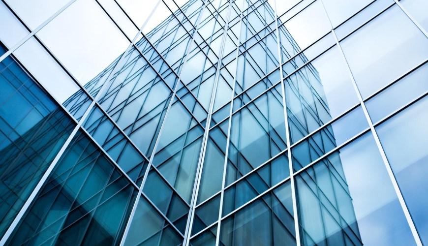 Distrubution of flat glass a reflection